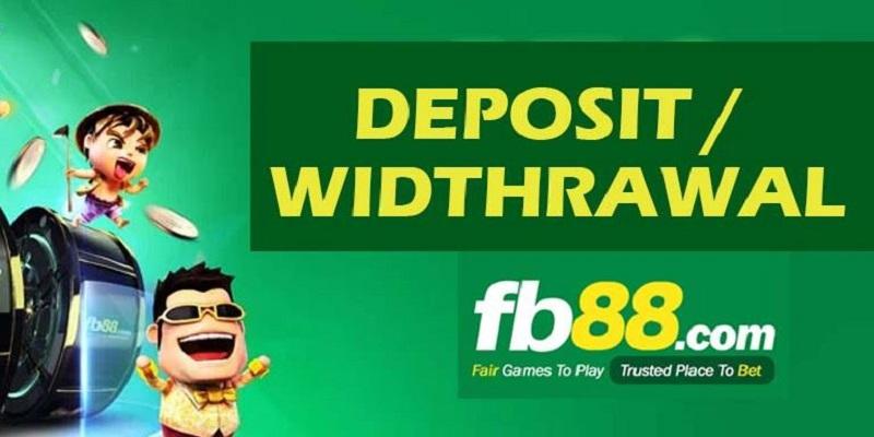 phương thức rút tiền tại FB88