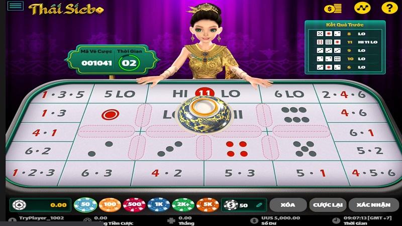 Những hình thức đặt cược trong game Thái Sicbo