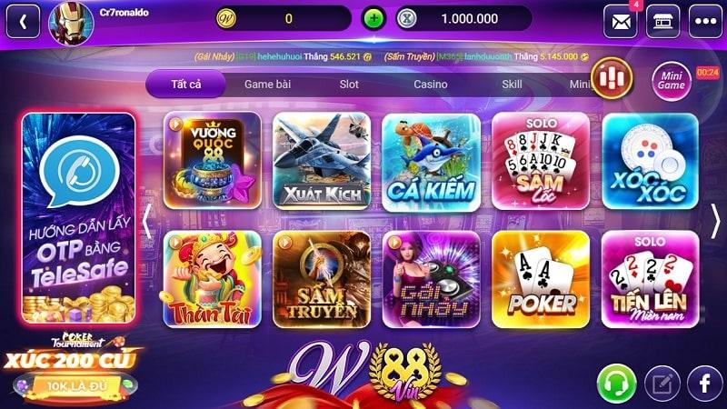 Top 10 Game Đổi Thưởng Trên W88 Uy Tín Trực Tuyến - Poker - Game đổi thưởng đòi hỏi trí tuệ