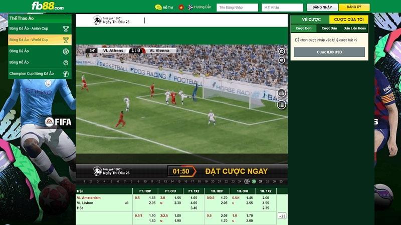 Các bước để chơi cá cược bóng đá tại nhà cái FB88