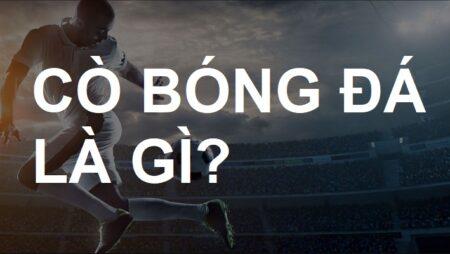 Cò bóng đá là gì? Cách làm cò cá độ bóng đá chuyên nghiệp