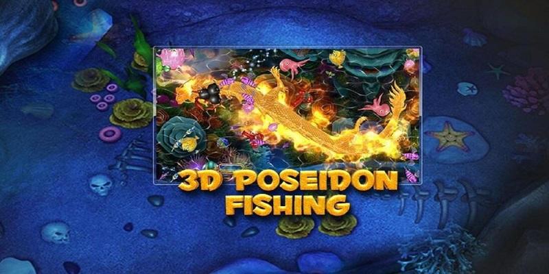 Danh sách các trò chơi bắn cá tại W88 - 3D Poseidon