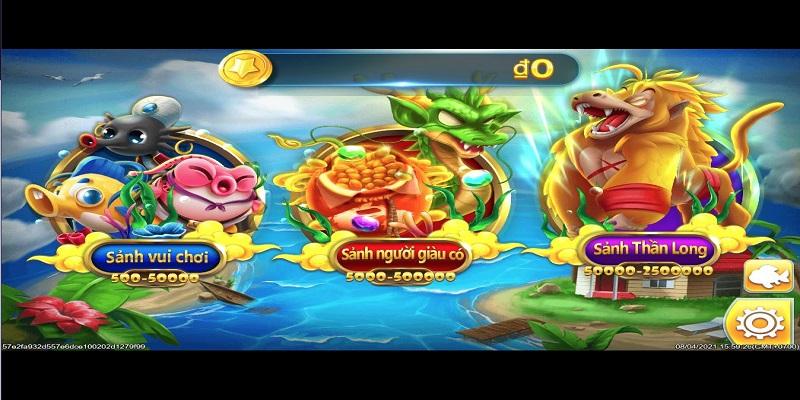 Hướng dẫn cách chơi game Dragon God Fish 2