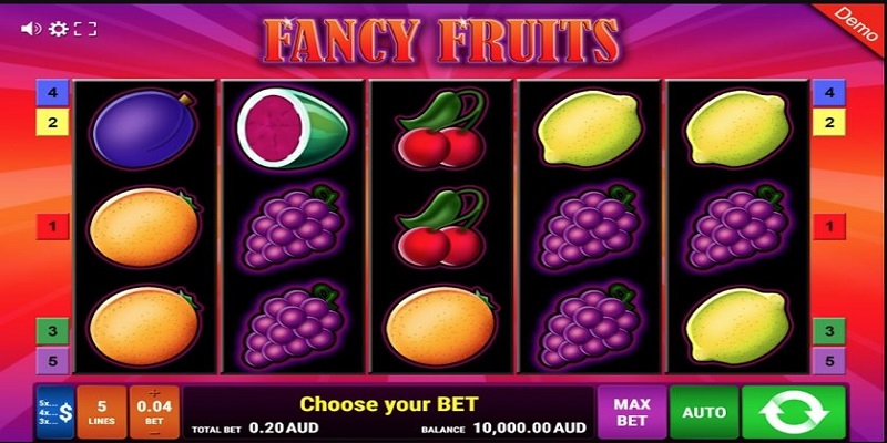 Fancy Fruits - game slots truyền thống