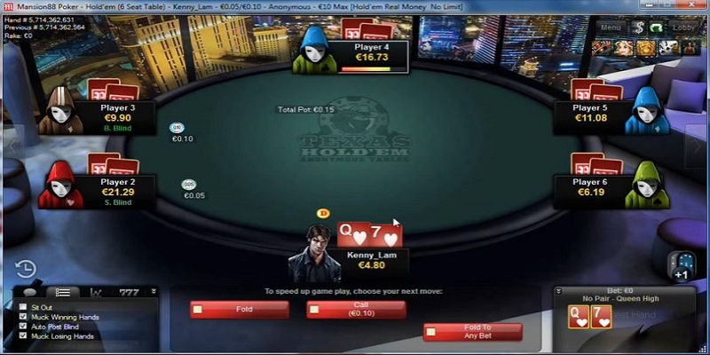 M88 - Nhà cái chơi Poker dễ ăn số một châu Á