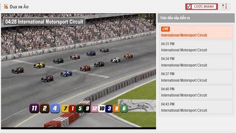 Quan sát những cuộc đua và xe đua trước khi tiến hành đặt cược