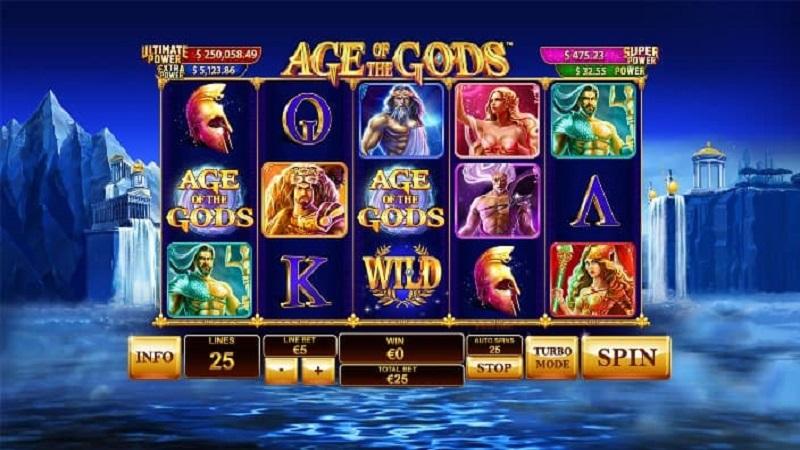 Game Jackpot Age of the GODS trên FUN88