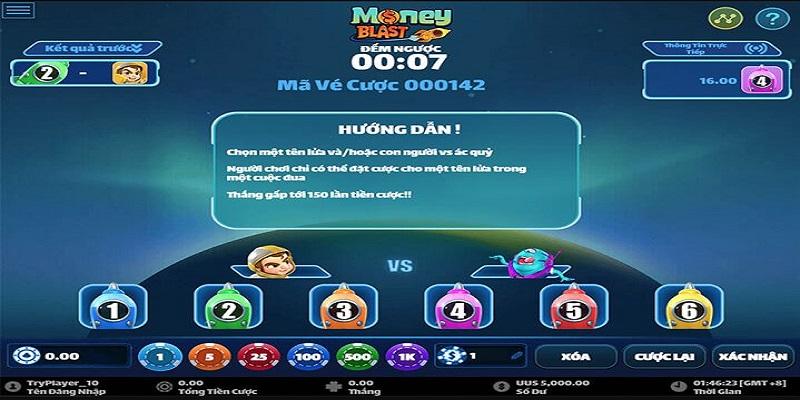 Luật chơi Money Blast tại VN88