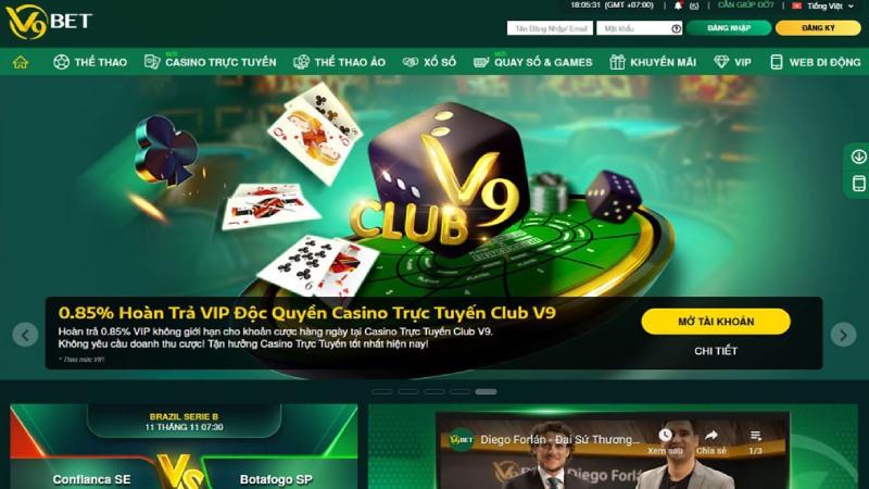 Cách chơi Slot game tại V9BET cho người mới