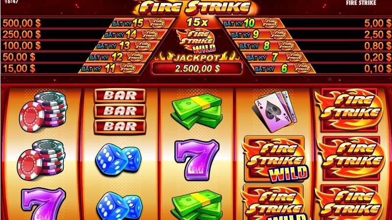 Tựa game hấp dẫn Fire Strike