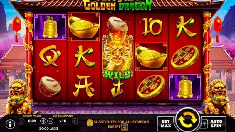 Golden Dragon - Slot game dễ chơi dễ trúng