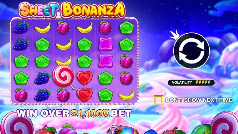Slot game dễ chơi dễ trúng nhất trên W88 - Sweet Bonanza