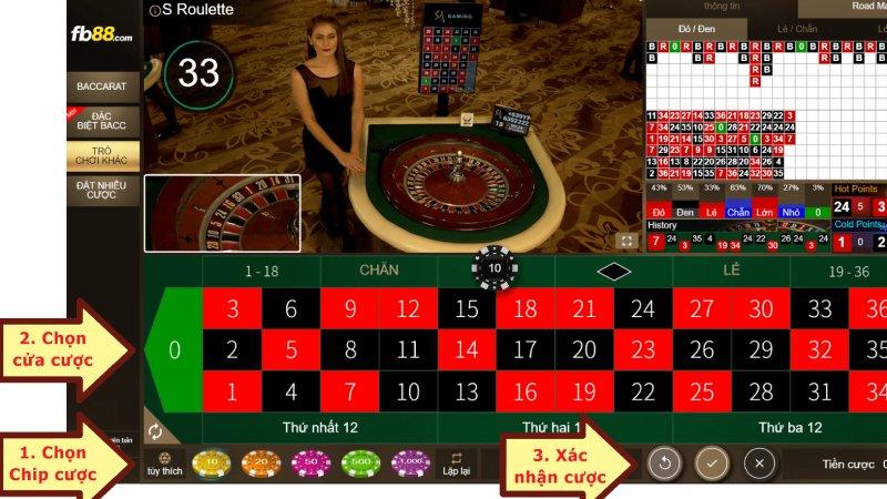 Vì sao nên chơi cược Roulette tại nhà cái FB88?