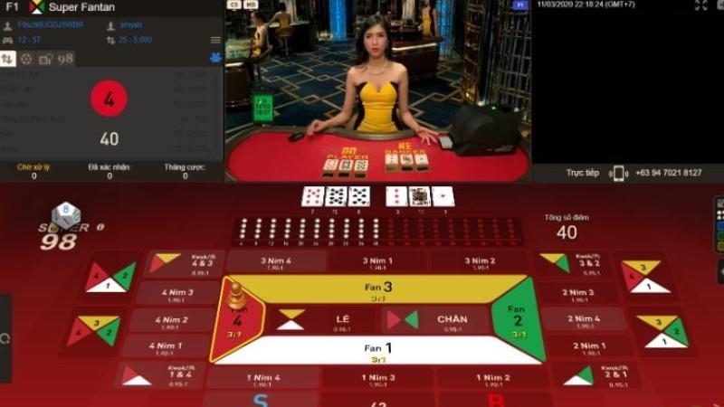 Hướng dẫn cách chơi Fan Tan 3D tại nhà cái VN88