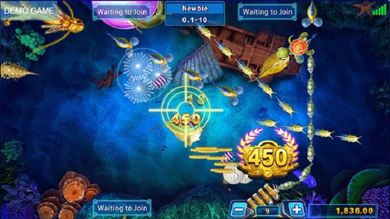 Tập trung các mục tiêu lớn khi bắn cá rồng II
