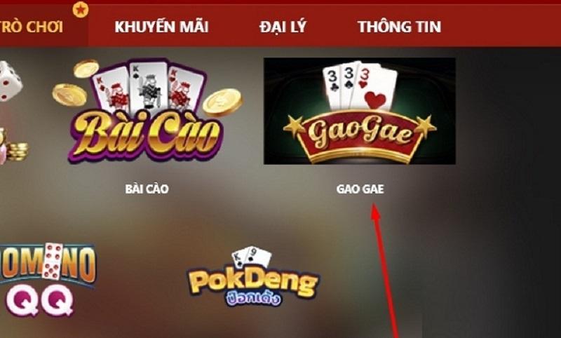 Cách truy cập game Gao Gae trên VN88