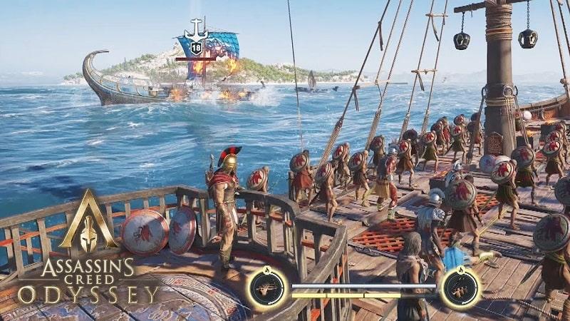 Con tàu là nhà của bạn trong Gems Odyssey
