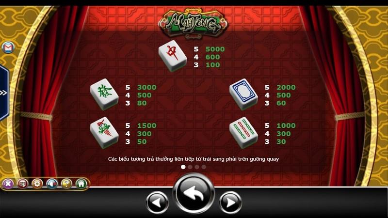 Slot game Mah Jong