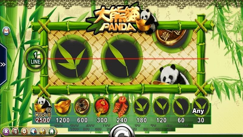 Slot game Panda