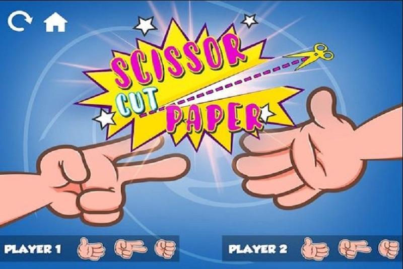 Rock Paper Scissors với hình tượng Kéo, Búa, Bao quen thuộc