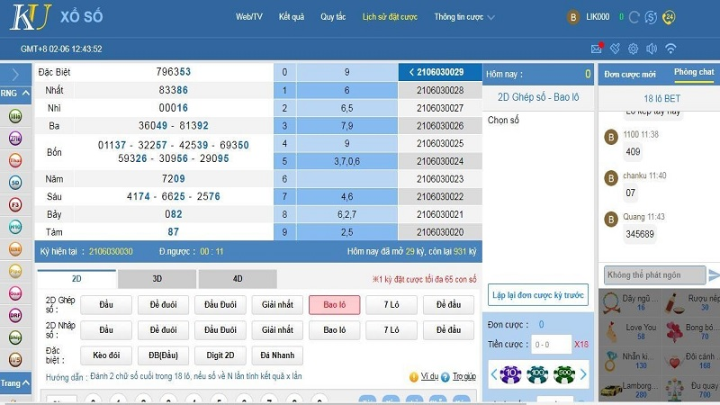 Chơi lotto trên nhà cái online có nhiều ưu đãi