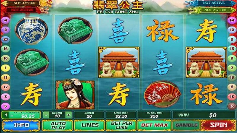 Những lưu ý khi chơi Fei Cui Gong Zhu trên 12BET